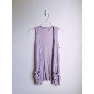 Kimchi Blue Violet Vest NWOT